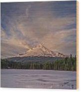 Alpenglow Wood Print