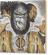 Alpha Phi Alpha Fraternity Inc Wood Print