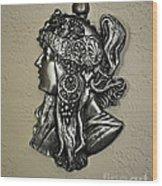 Alphonse Mucha 1860-1939 New Profile Wood Print