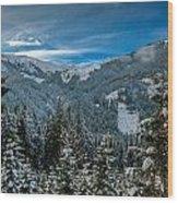 Alpine Escape Wood Print