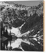 Alpine Lake August 1975 #1 Wood Print