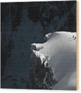 Alpinists Wood Print