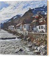 Alps Vicinity Wood Print