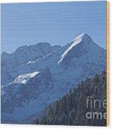 Alpspitze Bavaria 1 Wood Print