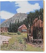 Alta In Colorado Wood Print by Guido Borelli