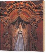 Altar And Madonna Wood Print