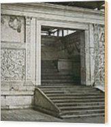 Altar Of Peace Of Augustus. 13 Bc Wood Print