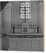 Altar Of The Dead... 01 Wood Print