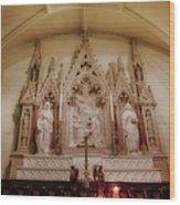 Altar Wood Print