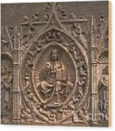 Altarpiece Wood Print