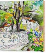 Altea La Vieja 04 Wood Print