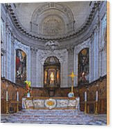 Alter At St Martins Cathedral Wood Print