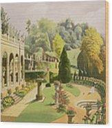 Alton Gardens Wood Print