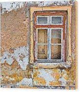 Alvor Window Wood Print