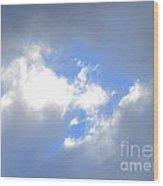 Always Blue Wood Print