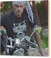 Always Free Like A Wind -  Easy Dream Rider. Wood Print by  Andrzej Goszcz