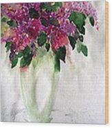 Alyvos - Lilacs Wood Print