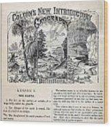 am t 24 colton climate vignettes R Wood Print