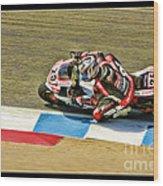 Ama Superbike David Anthony Wood Print