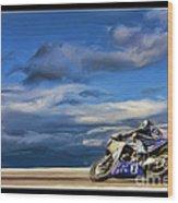 Ama Superbike Josh Jayes Wood Print