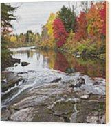 Amable Du Fond Autumn Wood Print