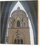 Amalfi - Church Wood Print