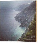 Amalfi Coast And Beyond Wood Print by H Hoffman