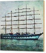 Amalfi Coast.royal Clipper  Wood Print