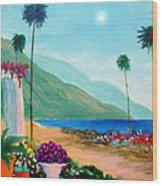 Amalfi Colors Wood Print