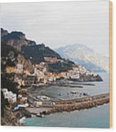Amalfi Italy Wood Print