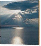 Amalfiana Seascape Wood Print