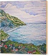 'amalfitana' Wood Print