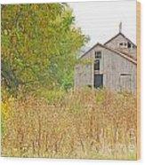 Amana Barn Wood Print