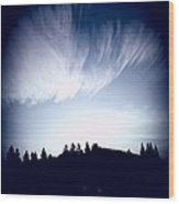 Amazing Clouds Wood Print