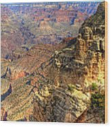 Amazing Colors Of The Grand Canyon  Wood Print