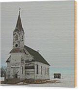 Amazing Grace In North Dakota Wood Print