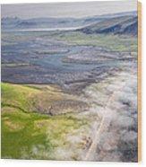 Amazing Iceland Landscape Wood Print