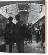 Amazing Penn Station - Otherworldly View Wood Print