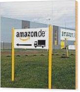 Amazon Warehouse Wood Print