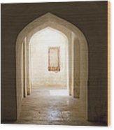 amber fort II Wood Print