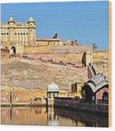 Amber Fort - Jaipur India Wood Print