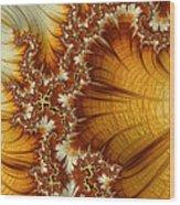 Amber  Wood Print by Heidi Smith
