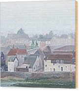 Amboise And The Loire River France Wood Print