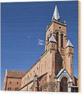 Ambositra Rc Church Madagascar Wood Print