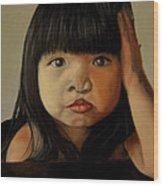 Amelie-an 5 Wood Print