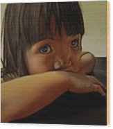Amelie-an 7 Wood Print