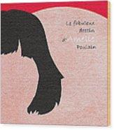 Amelie Wood Print