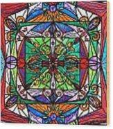 Ameliorate Wood Print by Teal Eye  Print Store