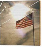 America Wood Print by Paul Foutz