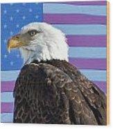American Bald Eagle 2 Wood Print
